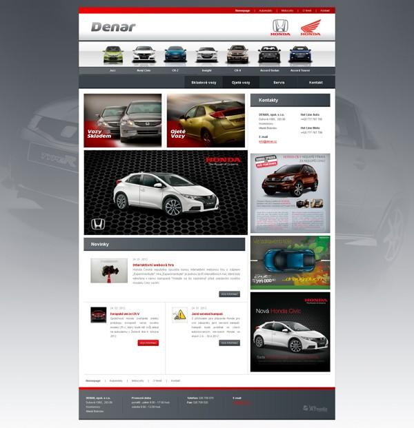 Úvodní stránka - automobily