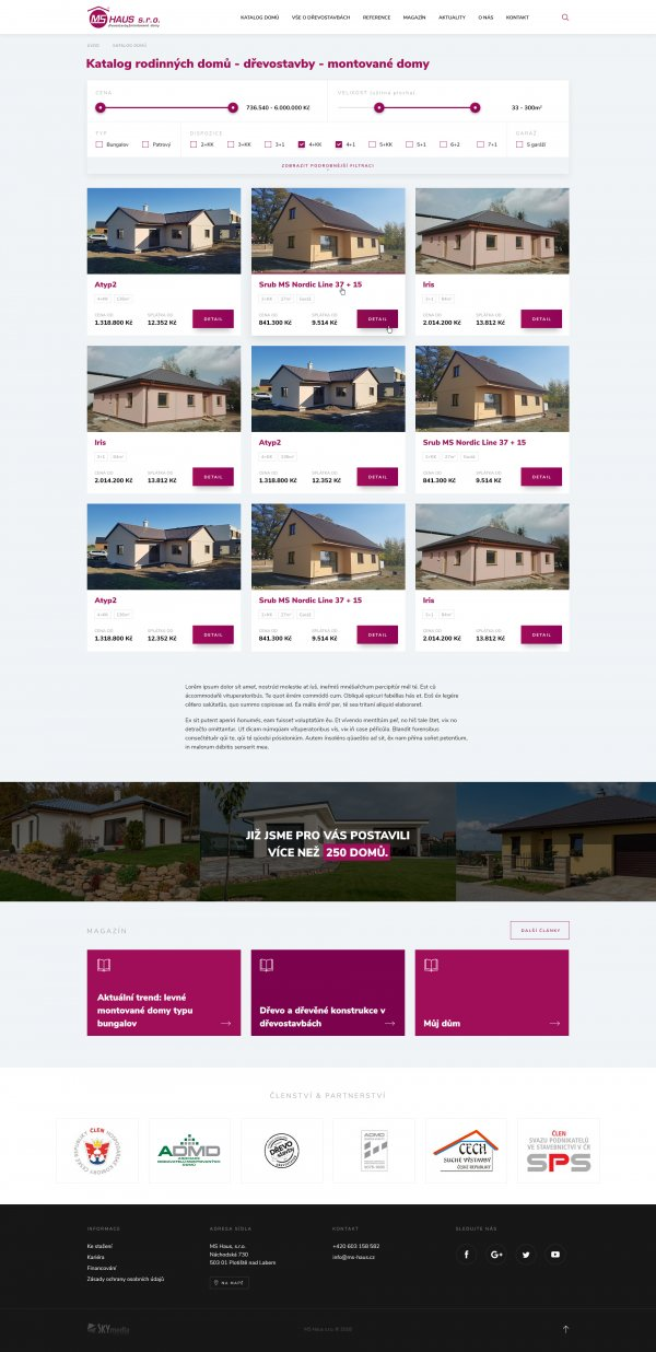 Katalog domů