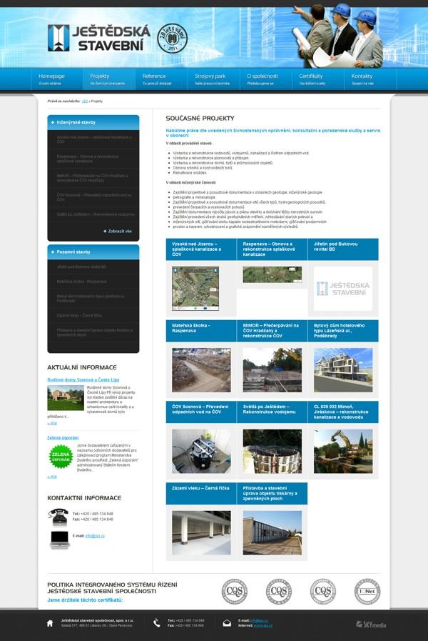 Výpis projektů